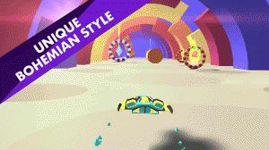 Androidアプリ「Geometry Race」のスクリーンショット 3枚目