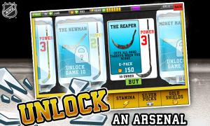 Androidアプリ「NHL Hockey Target Smash」のスクリーンショット 5枚目