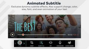 Androidアプリ「FilmoraGo - 無料動画編集アプリ」のスクリーンショット 4枚目