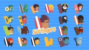 Androidアプリ「Surfingers」のスクリーンショット 3枚目