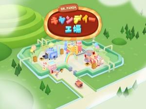 Androidアプリ「Dr. Pandaキャンディー工場」のスクリーンショット 1枚目