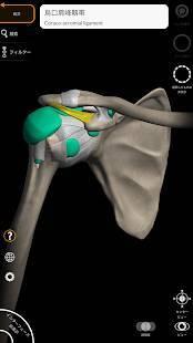 Androidアプリ「解剖学 - 3Dアトラス」のスクリーンショット 4枚目
