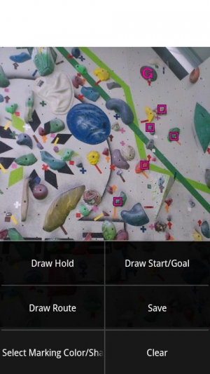 Androidアプリ「Topodroid For Rock Climber」のスクリーンショット 2枚目