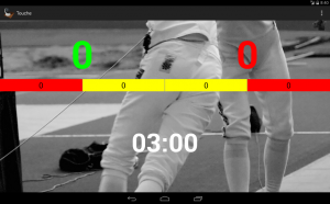 Androidアプリ「Touche: For Fencing Referees」のスクリーンショット 5枚目