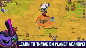 Androidアプリ「Crashlands」のスクリーンショット 5枚目