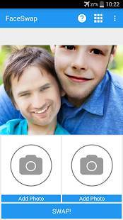 Androidアプリ「Face Swap - Photo Face Swap」のスクリーンショット 1枚目