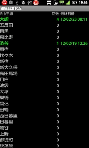 Androidアプリ「StationMemory」のスクリーンショット 3枚目