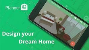 Androidアプリ「Planner 5D - インテリアデザイン」のスクリーンショット 1枚目