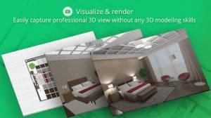 Androidアプリ「Planner 5D - インテリアデザイン」のスクリーンショット 5枚目