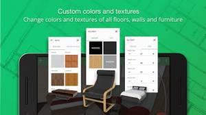 Androidアプリ「Planner 5D - インテリアデザイン」のスクリーンショット 4枚目