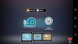 Androidアプリ「スローモーションビデオFX」のスクリーンショット 4枚目