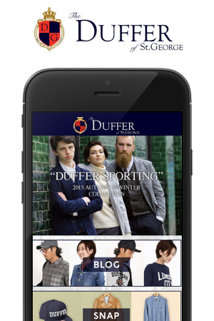 Androidアプリ「The DUFFER of St.GEORGE」のスクリーンショット 1枚目
