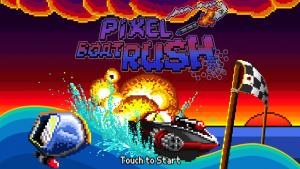 Androidアプリ「Pixel Boat Rush」のスクリーンショット 1枚目