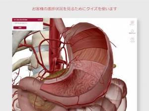Androidアプリ「解剖学的構造と生理学」のスクリーンショット 5枚目