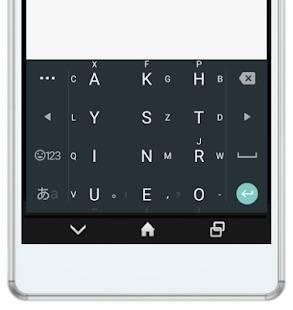 Androidアプリ「アルテ日本語入力キーボード(旧:アルテ on Mozc)」のスクリーンショット 4枚目