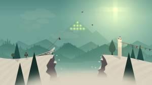 Androidアプリ「Alto's Adventure」のスクリーンショット 1枚目