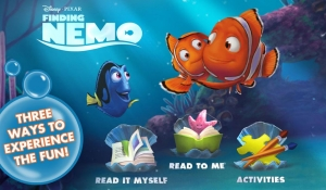 Androidアプリ「Finding Nemo: Storybook Deluxe」のスクリーンショット 1枚目