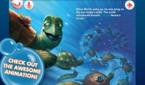 Androidアプリ「Finding Nemo: Storybook Deluxe」のスクリーンショット 3枚目