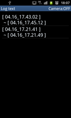 Androidアプリ「Vigilante ~盗み見記録~ -free-」のスクリーンショット 3枚目