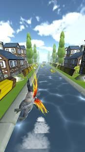 Androidアプリ「飛べゴリラ」のスクリーンショット 2枚目