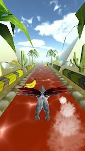 Androidアプリ「飛べゴリラ」のスクリーンショット 1枚目