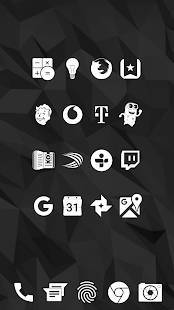 Androidアプリ「Whicons - White Icon Pack」のスクリーンショット 3枚目