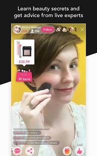 Androidアプリ「YouCam Shop - World's First AR Makeup Shopping App」のスクリーンショット 5枚目