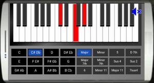 Androidアプリ「リアルピアノコードを学ぶ」のスクリーンショット 5枚目