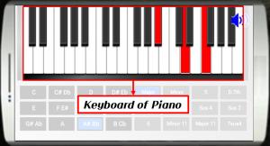 Androidアプリ「リアルピアノコードを学ぶ」のスクリーンショット 4枚目