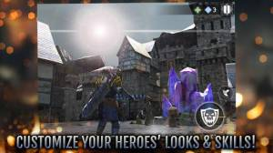 Androidアプリ「Heroes and Castles 2」のスクリーンショット 4枚目