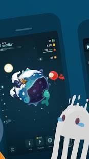 Androidアプリ「Walkr - ポケットの中の銀河冒険」のスクリーンショット 5枚目