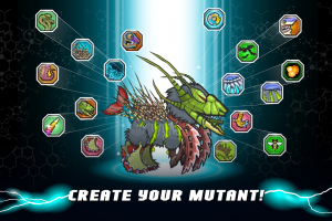Androidアプリ「Mutant Fighting Cup 2」のスクリーンショット 1枚目