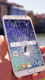 Androidアプリ「壊れた画面 (ジョーク) joke」のスクリーンショット 1枚目