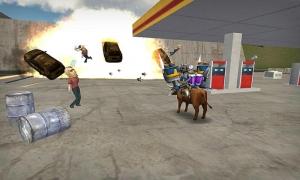Androidアプリ「模擬雄牛 - Bull Simulator 3D」のスクリーンショット 5枚目