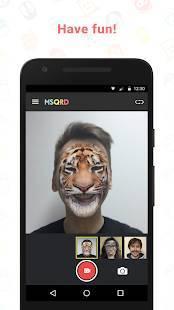 Androidアプリ「MSQRD」のスクリーンショット 2枚目