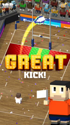 Androidアプリ「Blocky Rugby」のスクリーンショット 4枚目