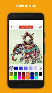 Androidアプリ「Colorify: Free Coloring Book」のスクリーンショット 4枚目