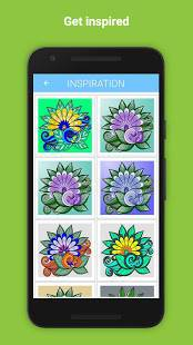 Androidアプリ「Colorify: Free Coloring Book」のスクリーンショット 3枚目