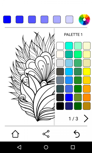 Androidアプリ「Colorify: Free Coloring Book」のスクリーンショット 2枚目