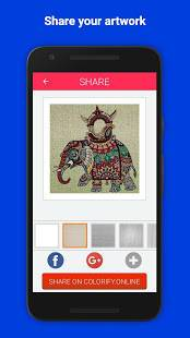 Androidアプリ「Colorify: Free Coloring Book」のスクリーンショット 5枚目