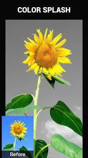 Androidアプリ「Color Splash Effect Photo Editor」のスクリーンショット 3枚目