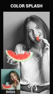 Androidアプリ「Color Splash Effect Photo Editor」のスクリーンショット 4枚目