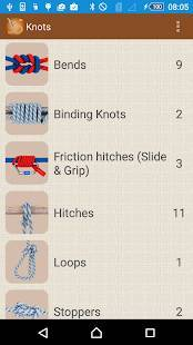 Androidアプリ「How to Tie Knots - 3D Animated」のスクリーンショット 1枚目