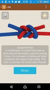 Androidアプリ「How to Tie Knots - 3D Animated」のスクリーンショット 4枚目