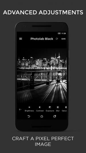 Androidアプリ「黒と白のフォトエディタ」のスクリーンショット 4枚目