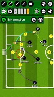 Androidアプリ「サッカー戦術ボード」のスクリーンショット 3枚目