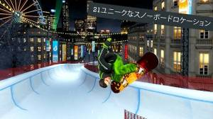 Androidアプリ「Snowboard Party: World Tour」のスクリーンショット 1枚目