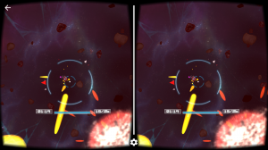 Androidアプリ「Deep Space Battle VR」のスクリーンショット 4枚目