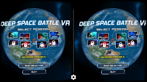 Androidアプリ「Deep Space Battle VR」のスクリーンショット 5枚目