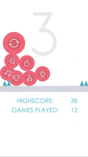 Androidアプリ「Bouncing Ball」のスクリーンショット 3枚目